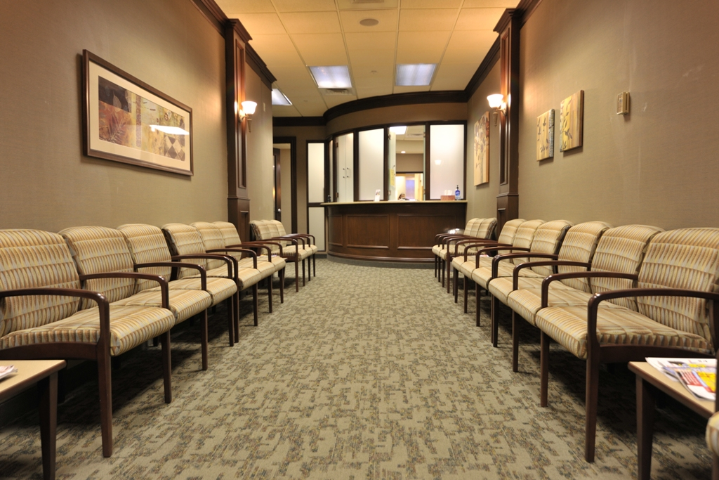 Professional Endodontrics Waiting Area